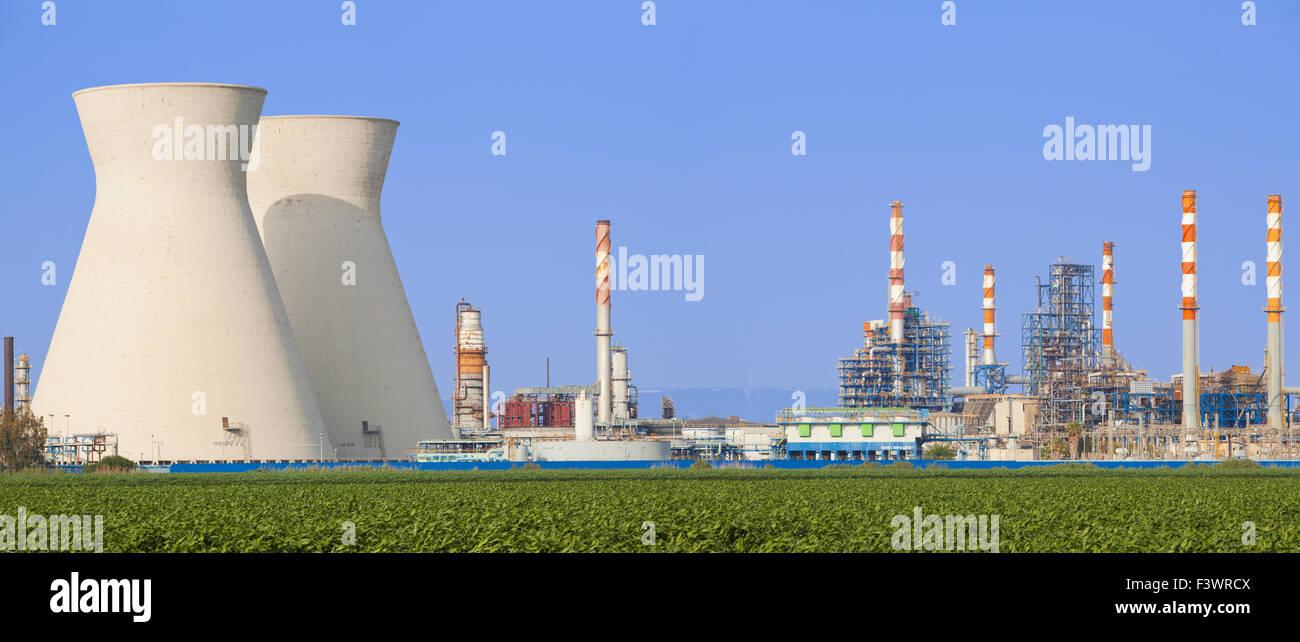 Nuclear Power Station Stockbild