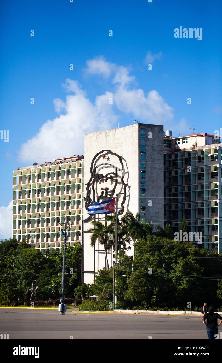 Kuba-Verteidigung-Gebäude Stockbild