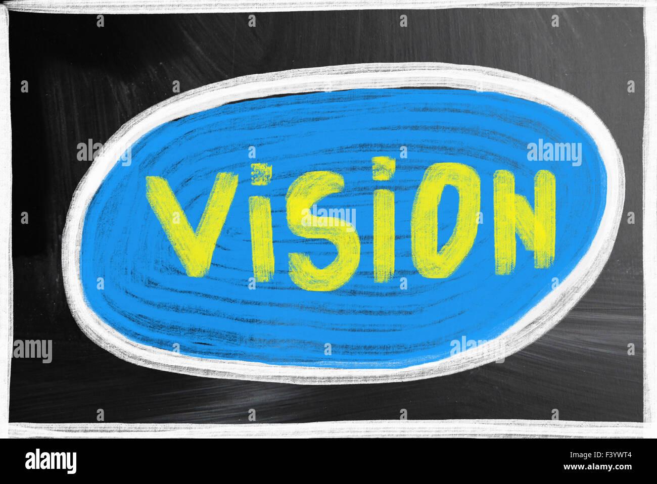 Vision-Konzept Stockbild