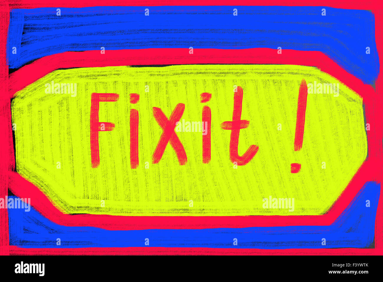 Fix it-Konzept Stockbild