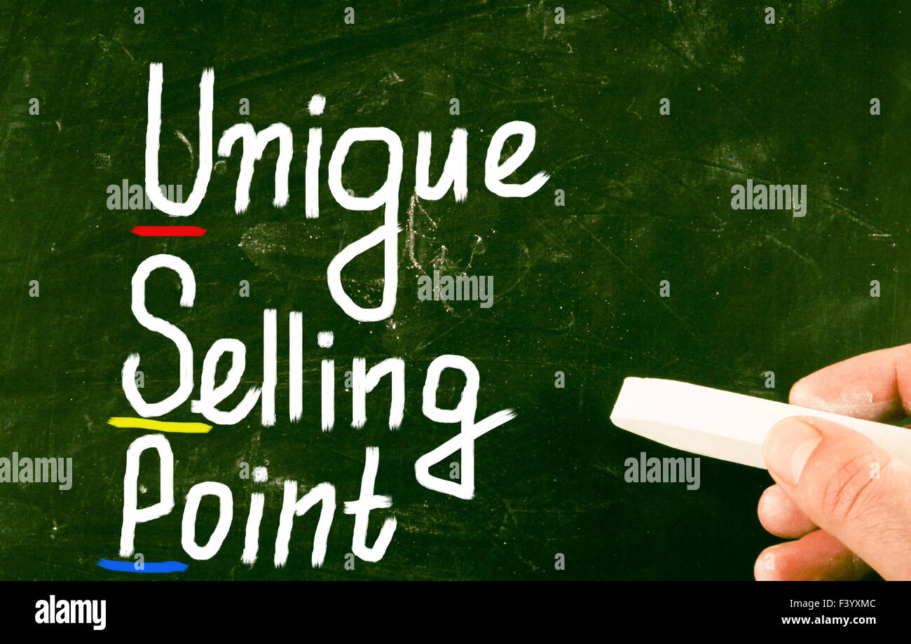Unique Selling Point Stockfotos & Unique Selling Point Bilder - Alamy