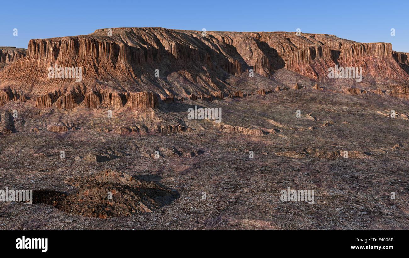 Wadi Rum, Jordanien Stockbild