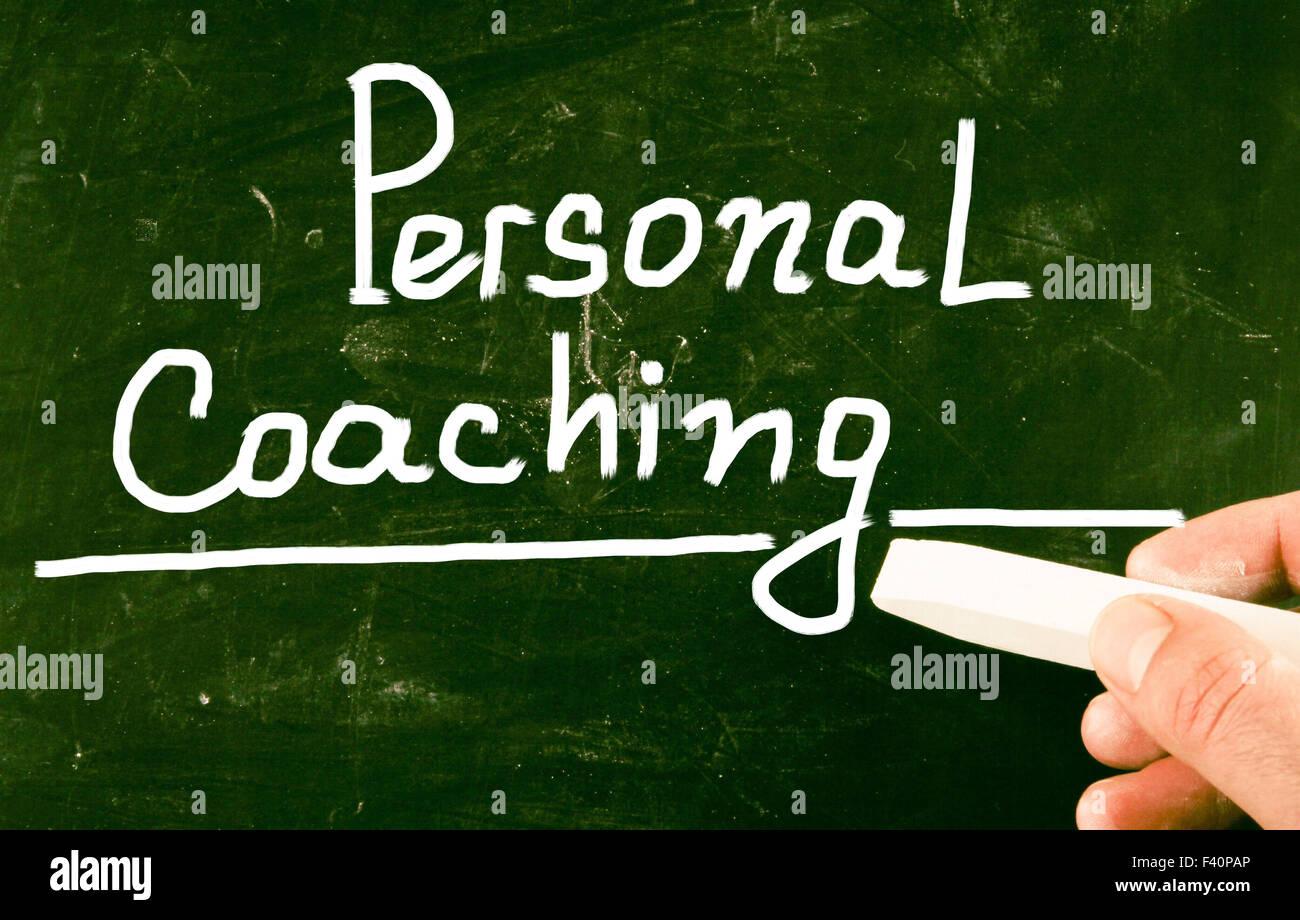 persönliches coaching Stockbild