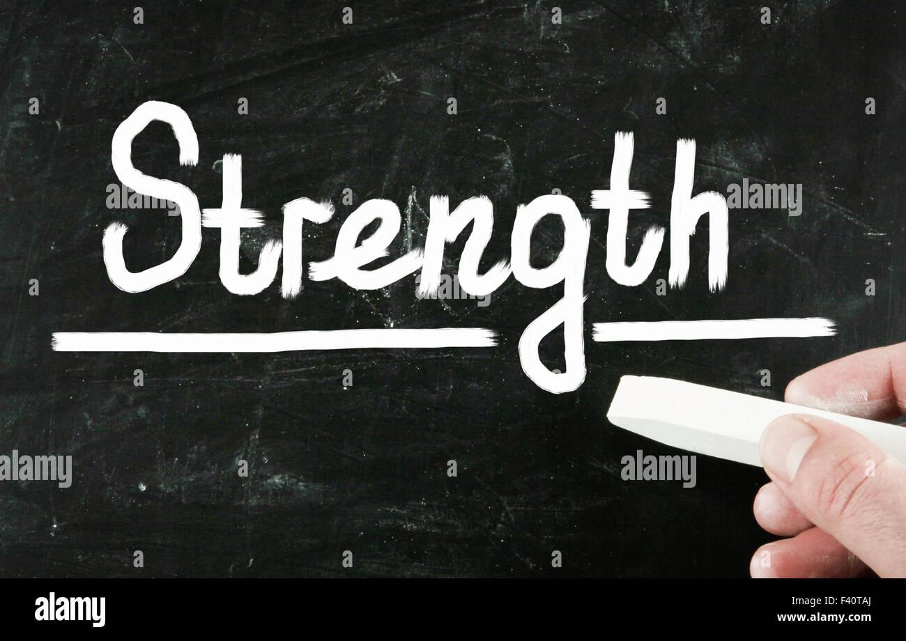 Stärke-Konzept Stockbild