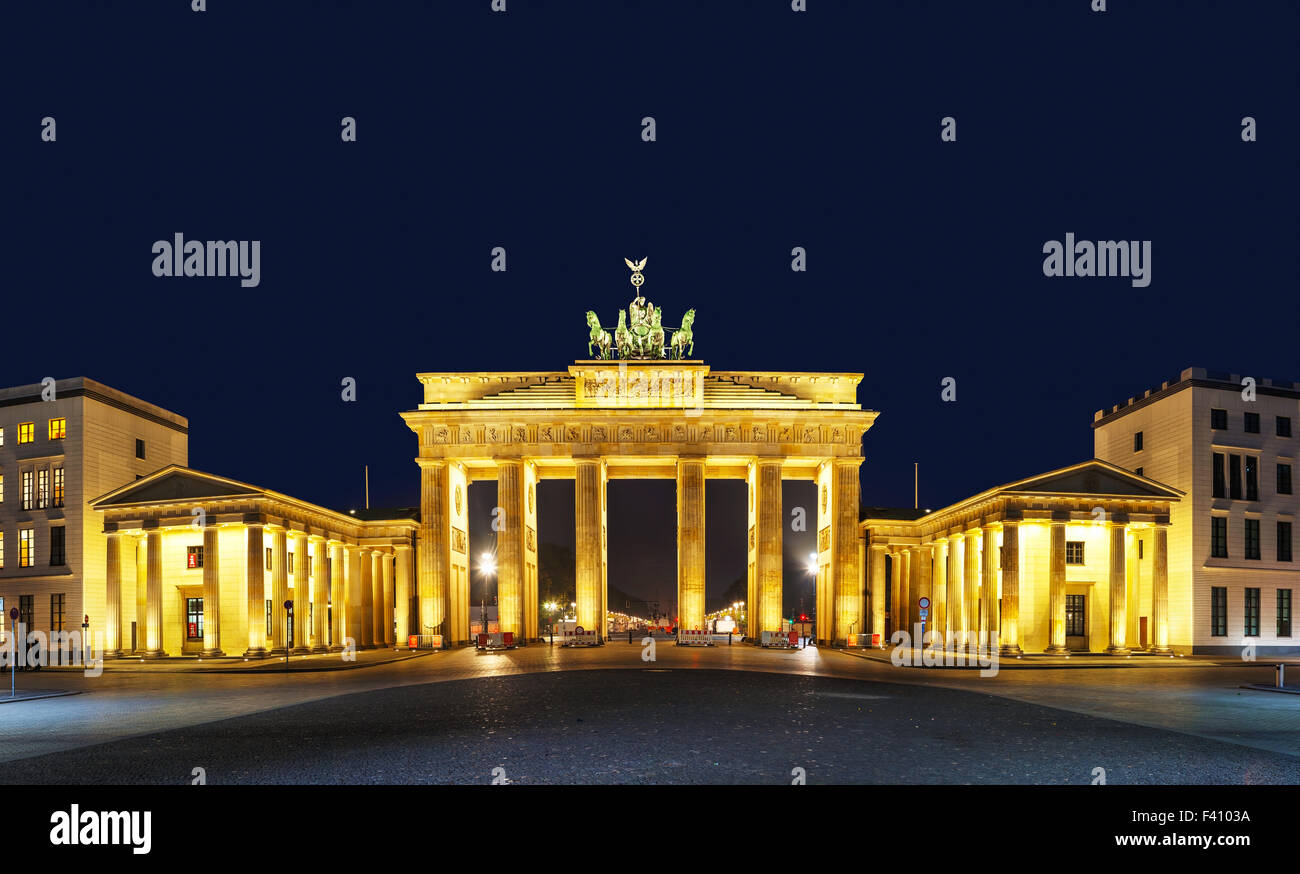 Brandenburger Tor in Berlin, Deutschland Stockbild