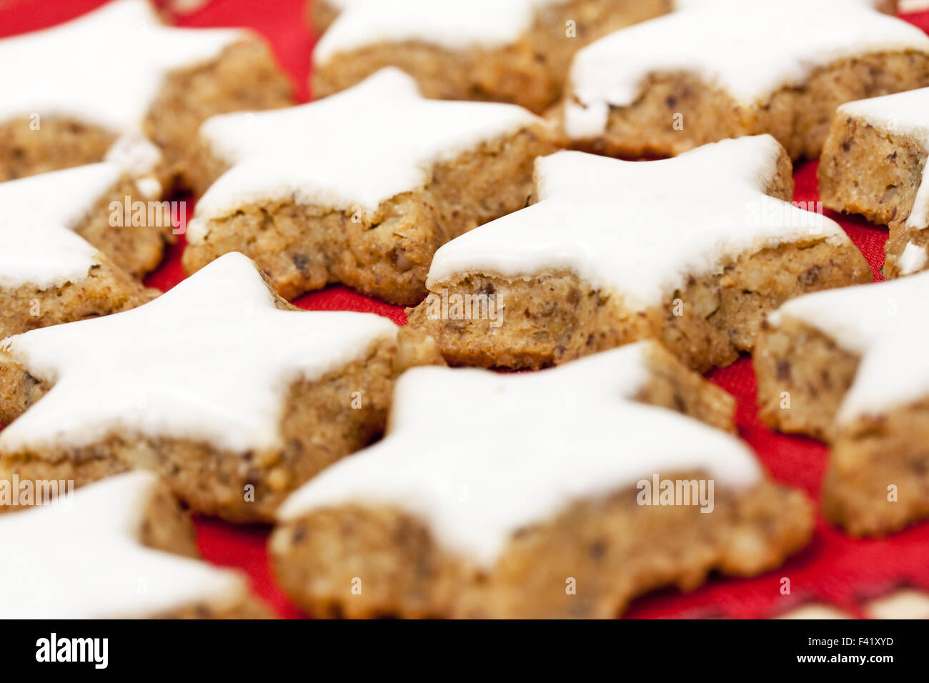 Xmas-cookies Stockbild