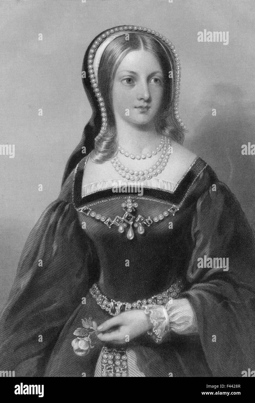 Lady Jane Grey Stockfoto