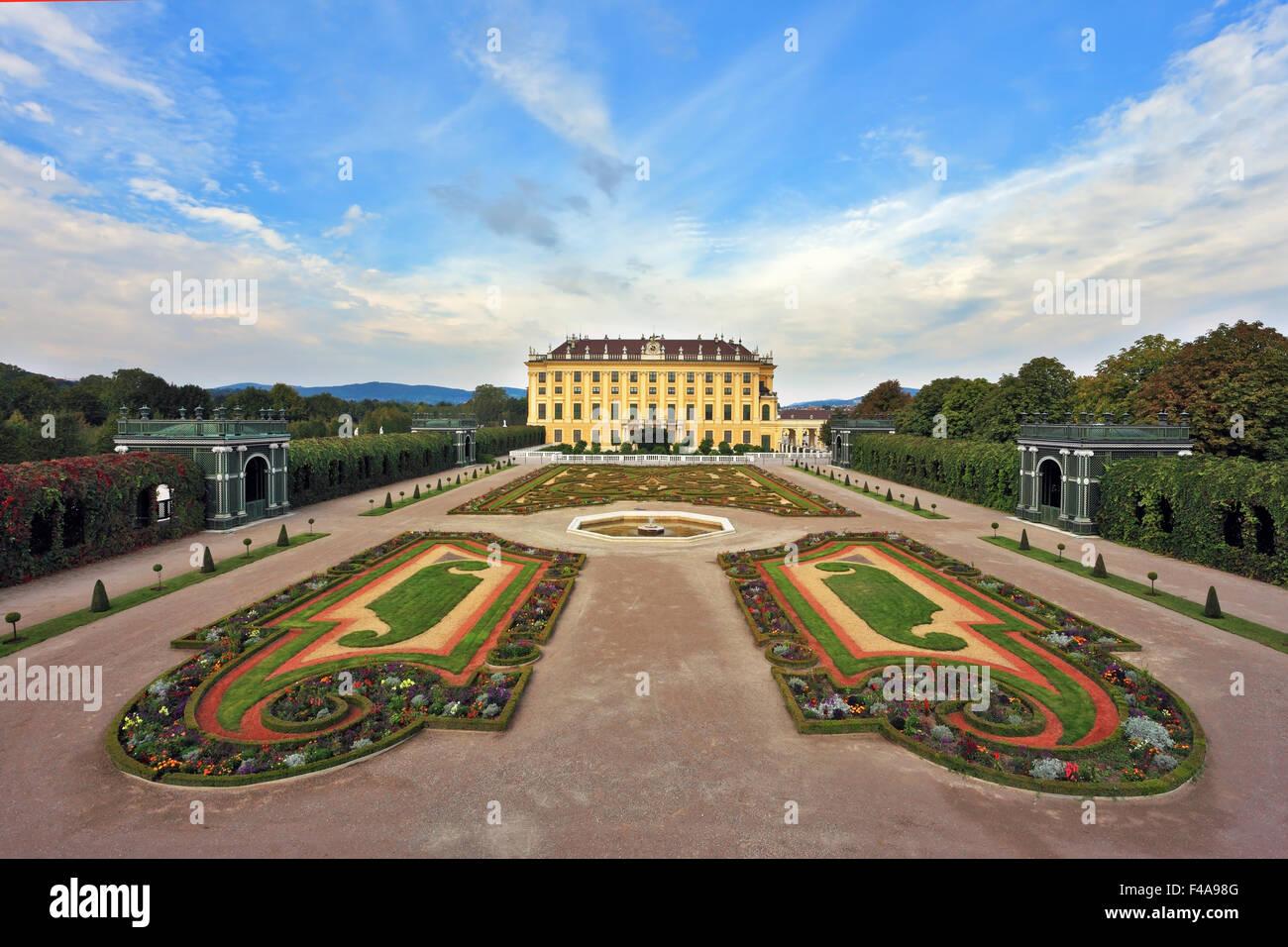 Die Residenz der österreichischen Habsburger Stockbild