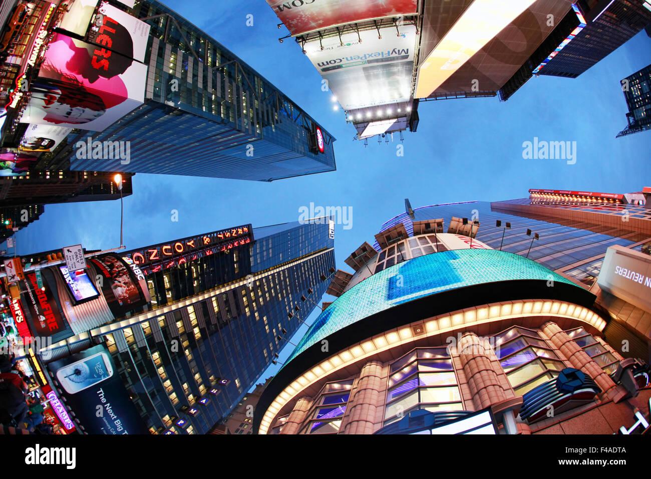 Times Square. New York City Stockbild