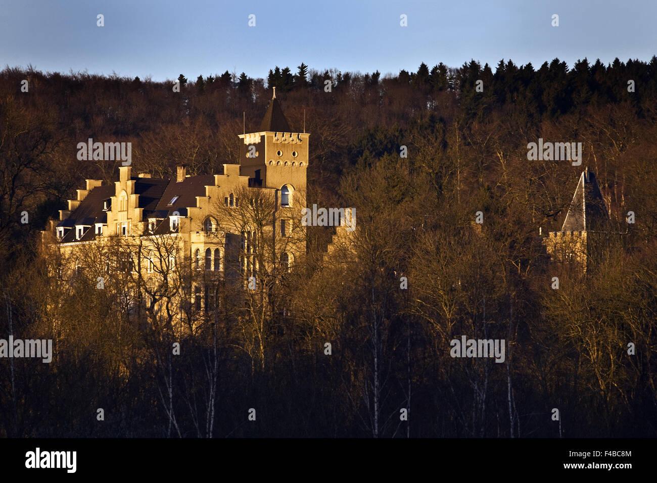 Burg Mallinckrodt, Herdecke, Deutschland. Stockbild