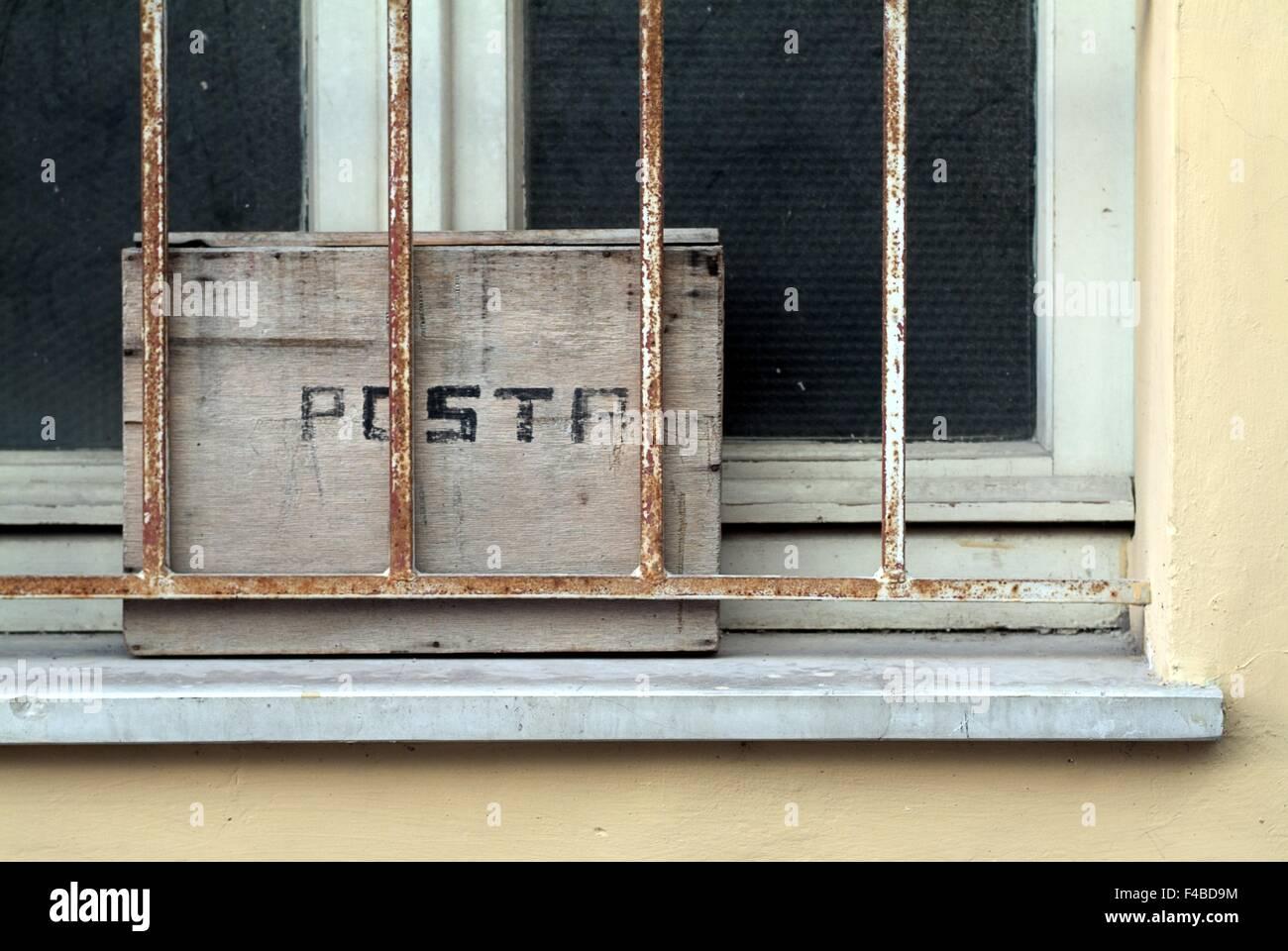 Alternative Postfach in Italien Stockbild
