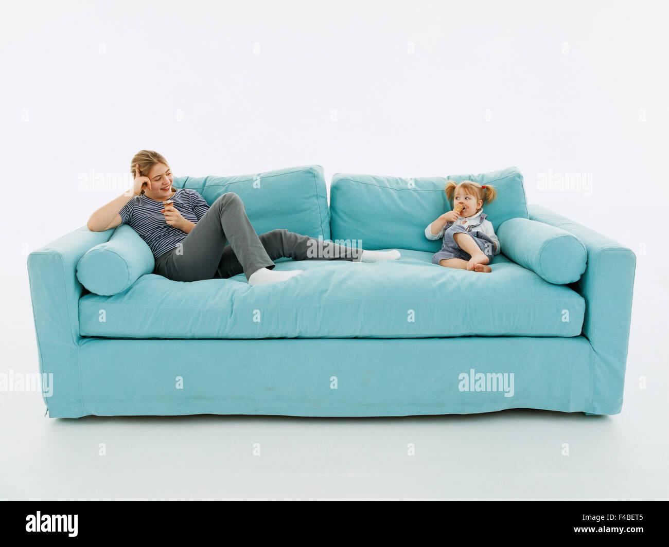 blaue Katalog 2 Kinder Farbe nur Bild häuslichen Lebens ...