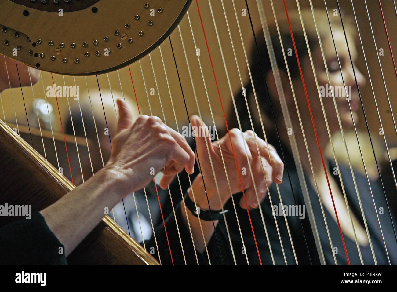 Klassisches Konzert, Witten, Deutschland Stockbild