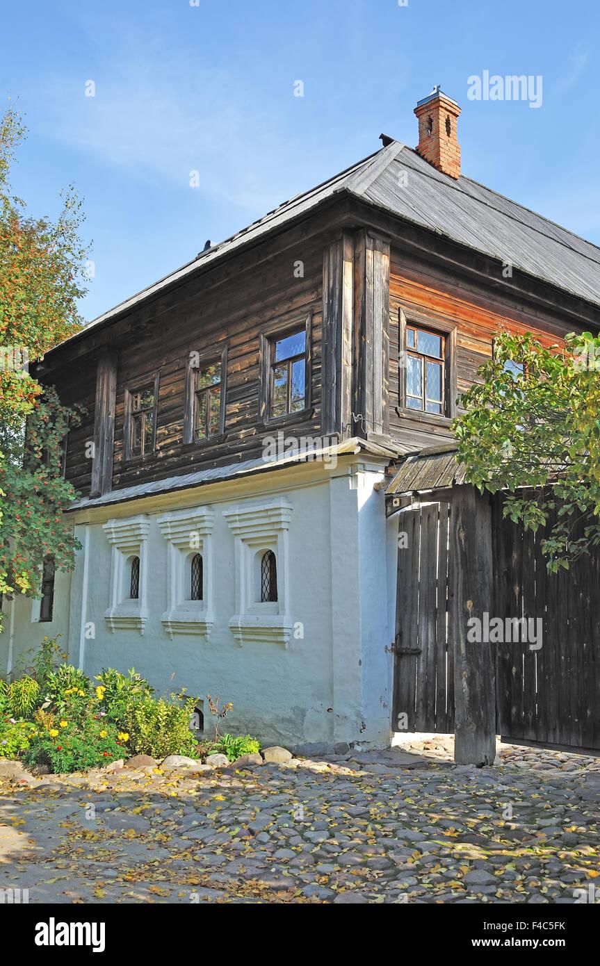 Likhoninsky Haus (18. Jh.) Stockbild