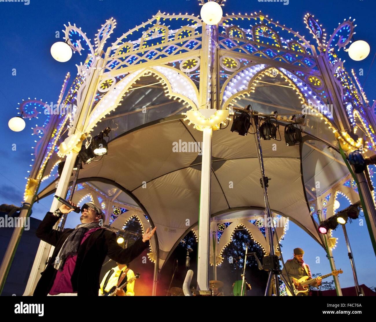 Event Una Festa Italiana, Unna, Deutschland Stockbild