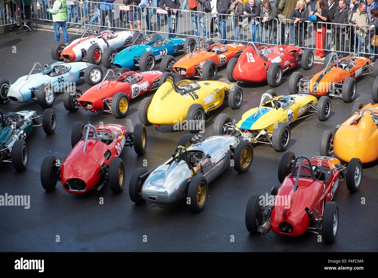 Formel Junior,42.AvD Oldtimer-Grand-Prix 2014 Nürburgring Stockbild