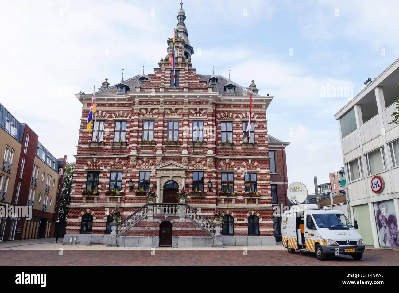 Kerkrade Niederlande rathaus kerkrade limburg niederlande stockfoto bild 88876877