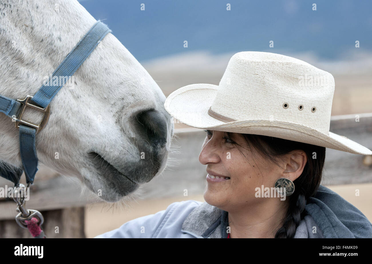 Horse Riding Therapy Stockfotos & Horse Riding Therapy Bilder - Alamy