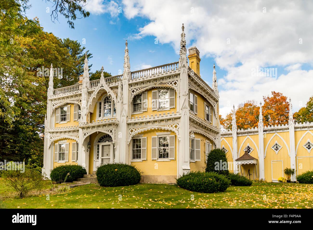 Hochzeit Kuchen Haus Stockfoto Bild 89000754 Alamy