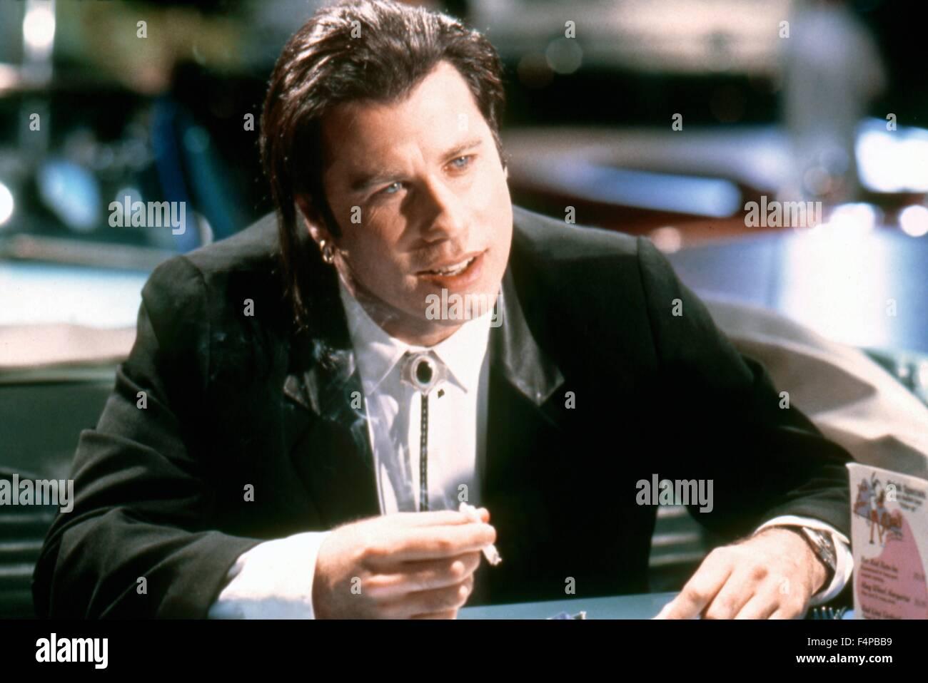John Travolta / Pulp Fiction 1994 unter der Regie von Quentin Tarantino Stockbild