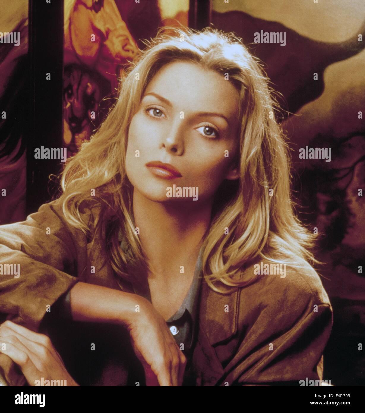 Michelle Pfeiffer / Wolf / 1994 unter der Regie von Mike Nichols Stockbild