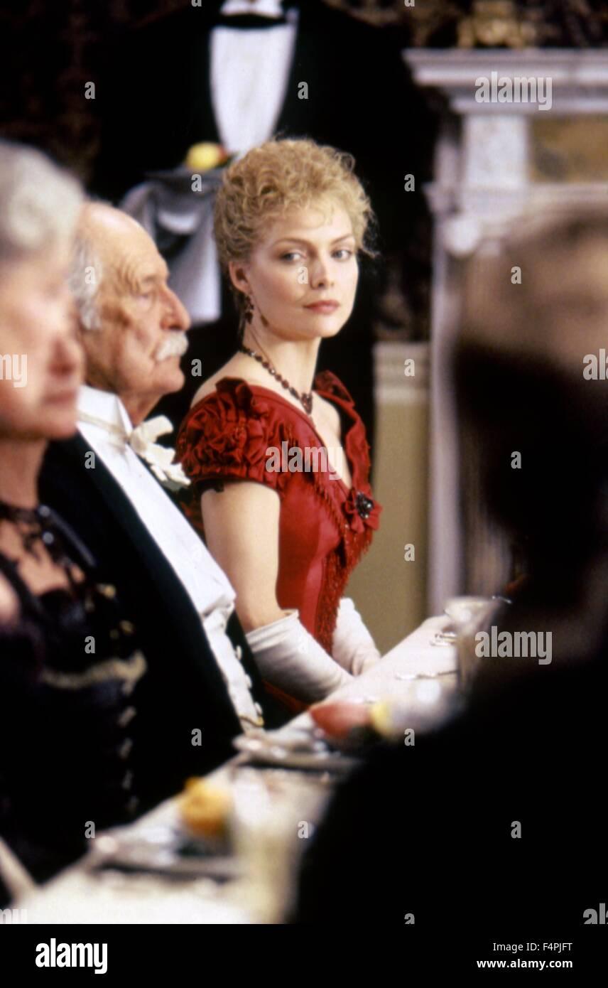 Michelle Pfeiffer / The Age of Innocence / 1993 unter der Regie von Martin Scorsese [Columbia Pictures] Stockbild