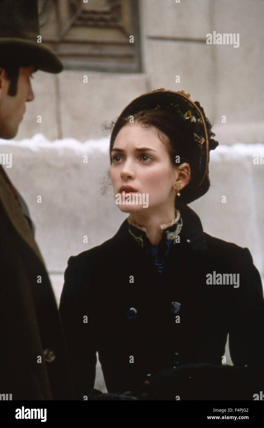 Winona Ryder / The Age of Innocence / 1993 unter der Regie von Martin Scorsese [Columbia Pictures] Stockbild