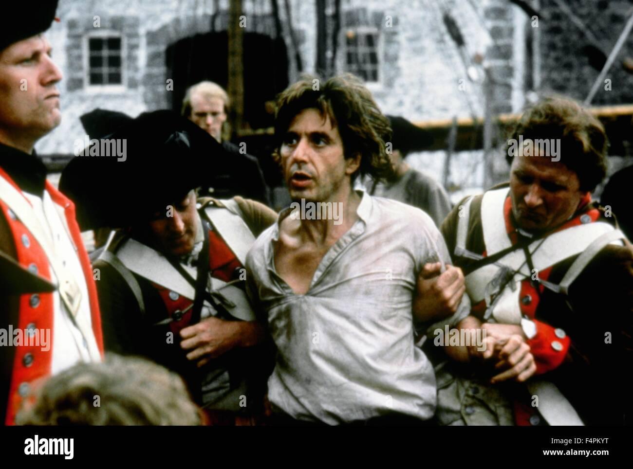 Al Pacino / Revolution / 1985 unter der Regie von Hugh Hudson [Warner Bros Pictures] Stockbild
