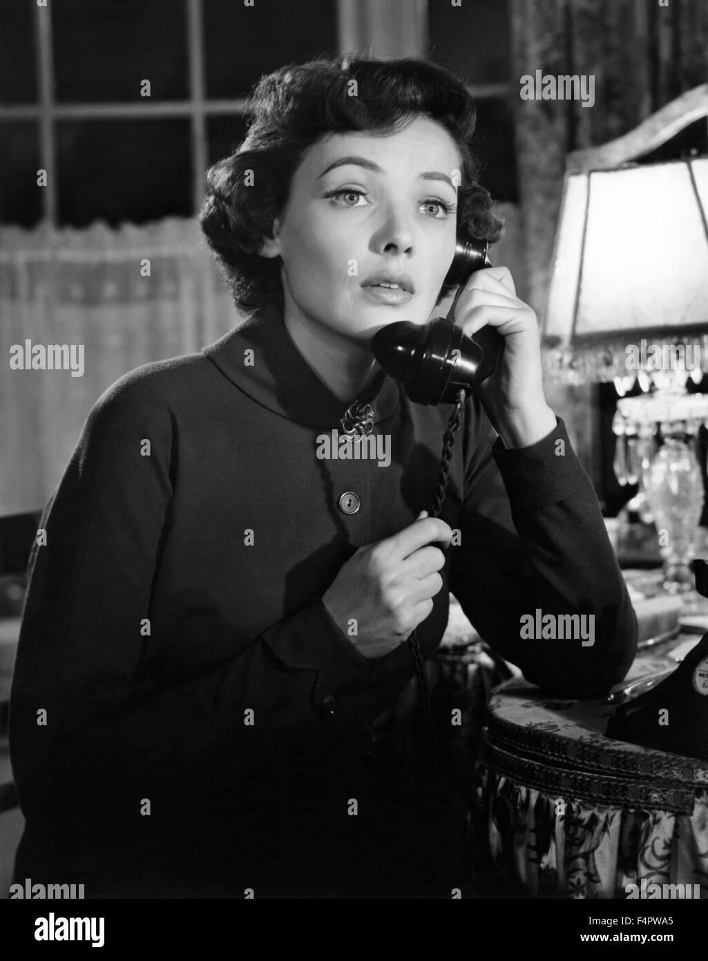 Gene Tierney / Nacht und die Stadt / 1950, Regie: Jules Dassin [zwanzigsten Jahrhundert Fox Film Corpo] Stockbild