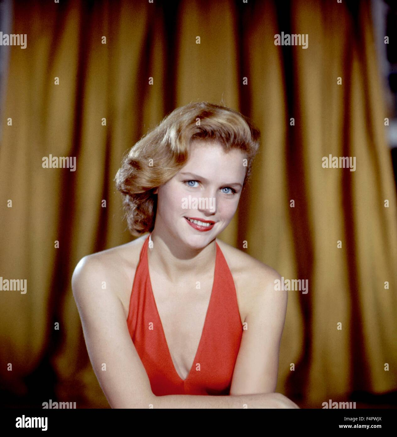 Lee Remick in den 50er Jahren. Stockbild