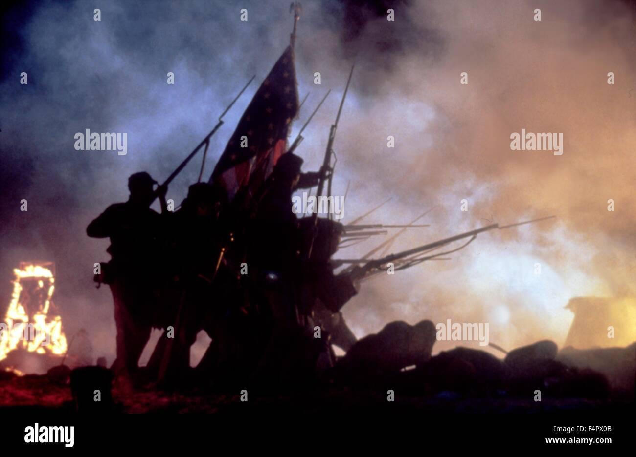 Ruhm / 1989 unter der Regie von Edward Zwick [TriStar Pictures] Stockbild
