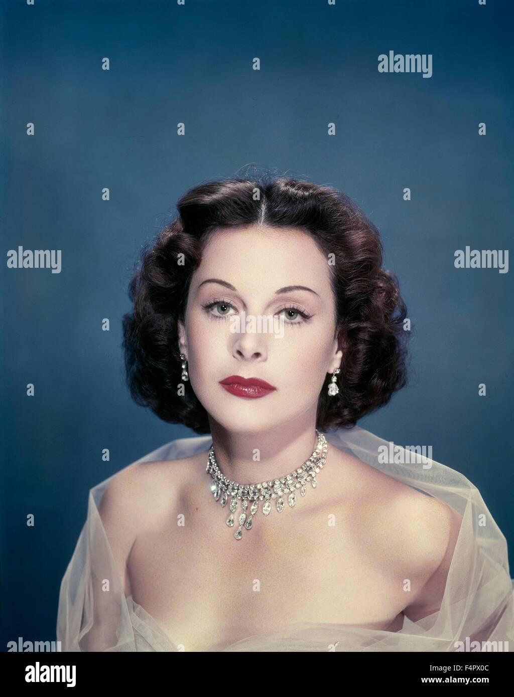 Hedy Lamarr in den 40er Jahren. Stockbild
