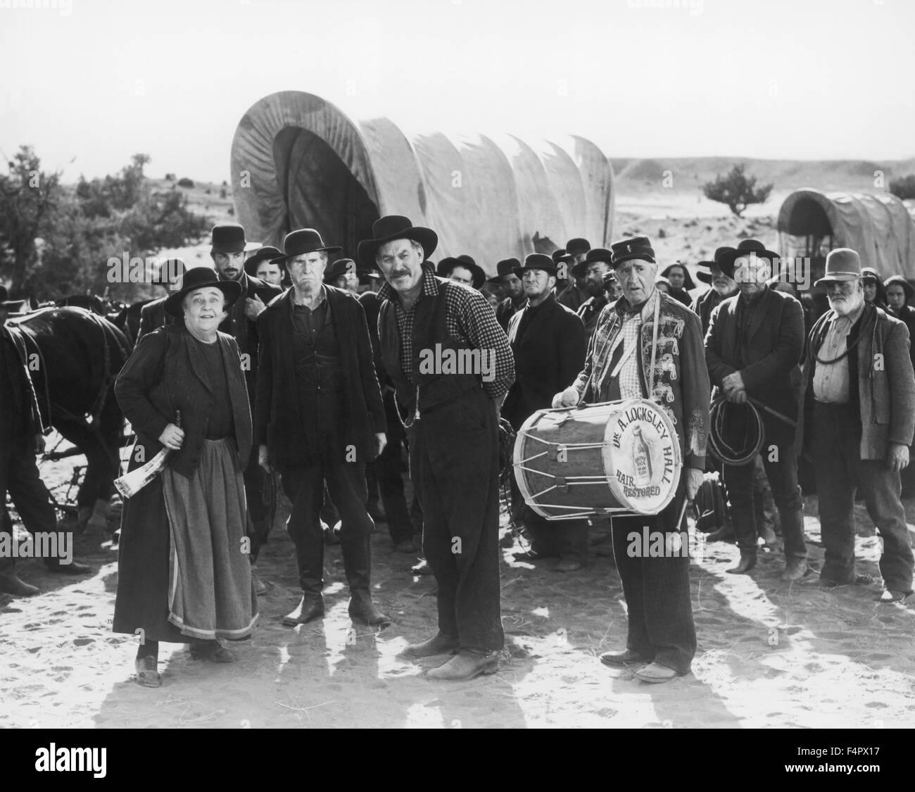 Wagon Master / 1950 unter der Regie von John Ford [Argosy Bilder / RKO Radio Pict] Stockbild