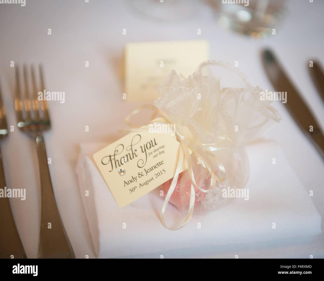 Hochzeit Gunst Gefallen Mit Vielen Dank Label Handgefertigten