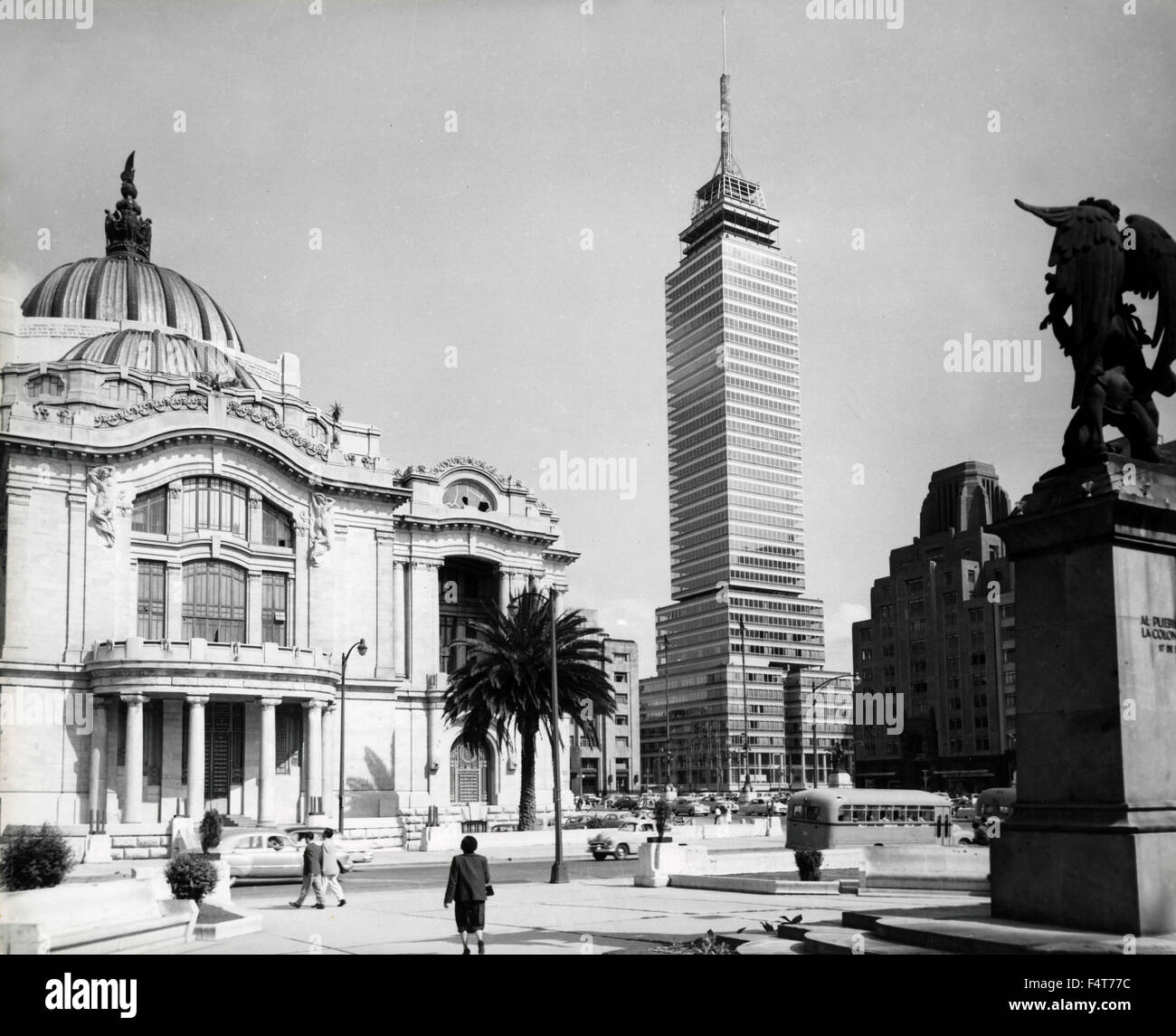 Palast der schönen Künste, Mexiko City, Mexiko Stockbild