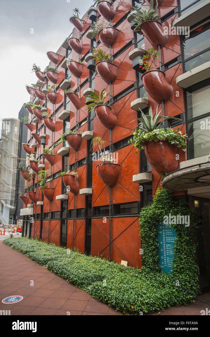Japan, Osaka City, organischen Bauens Shinsaibashi Stockbild