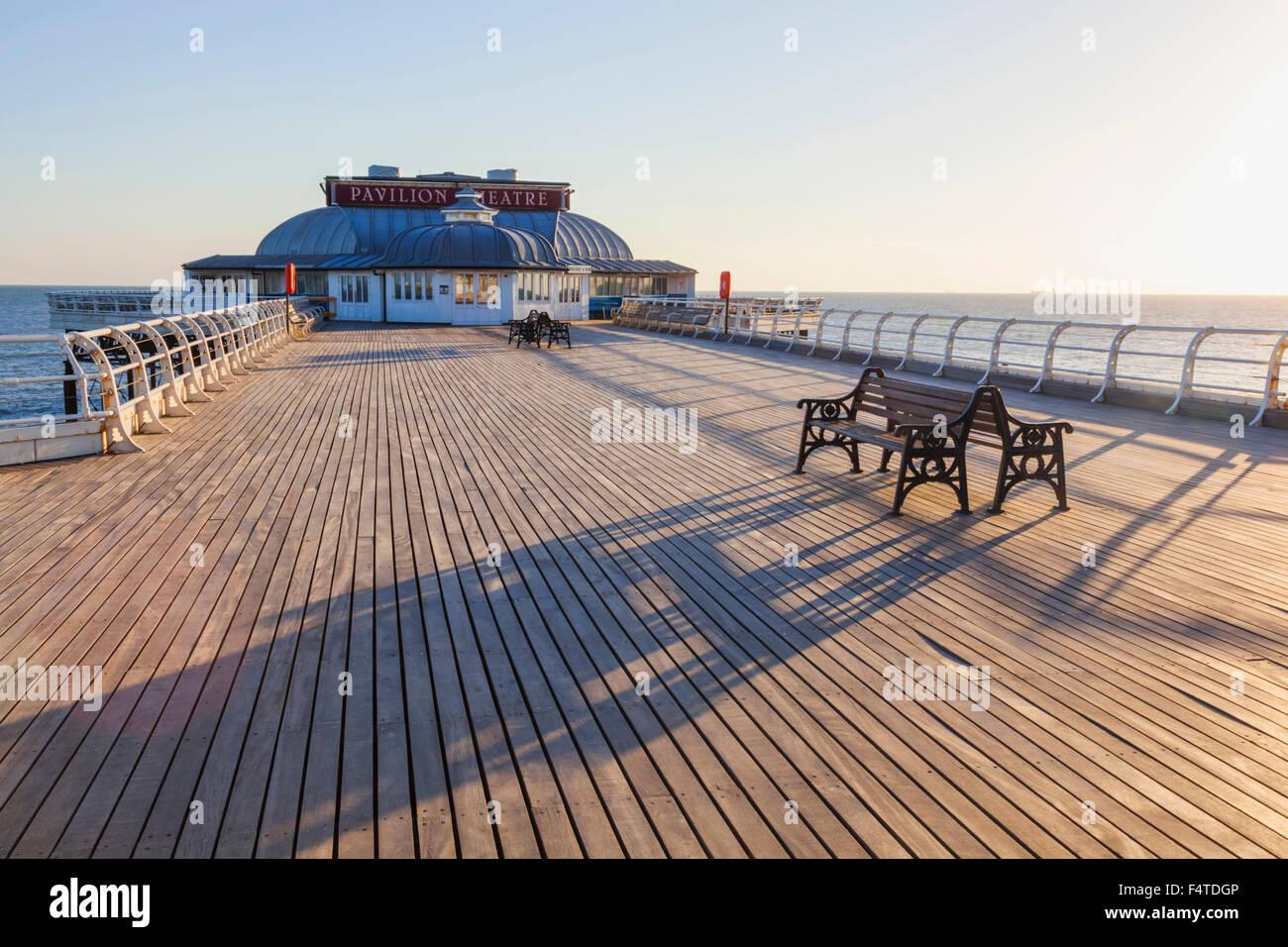 England, Norfolk, Cromer, Cromer Pier Stockbild