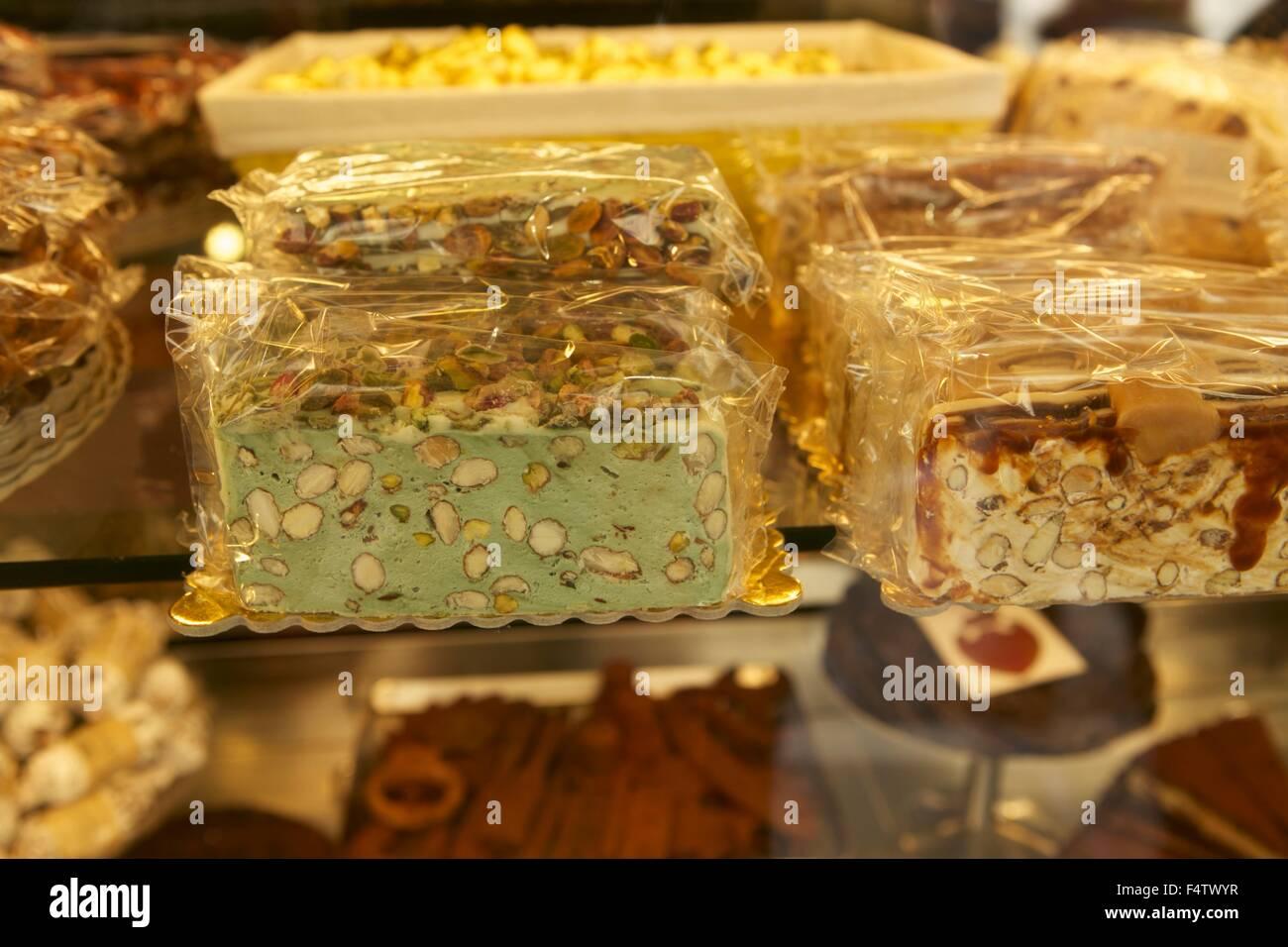 Fenster Essen essen süßigkeiten typisch italienische süßigkeiten fenster shop café