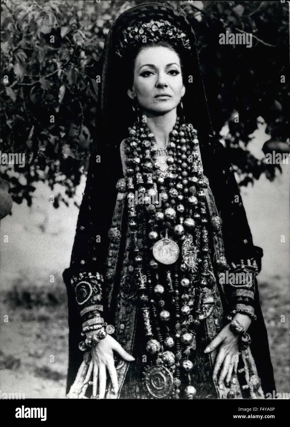 20   berühmte Sopranistin Maria Callas macht Film der