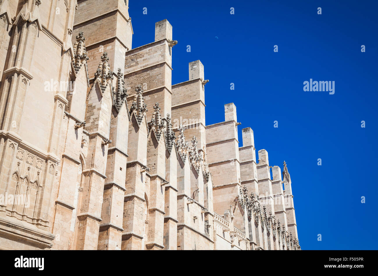 Kathedrale San Seu in Palma De Mallorca Stockbild
