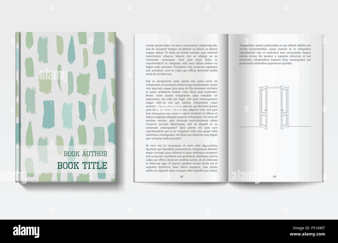 Großartig Buch Design Vorlagen Fotos - Beispiel Wiederaufnahme ...