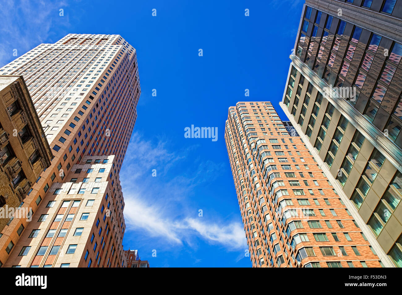 brick high rise new york stockfotos brick high rise new york bilder alamy. Black Bedroom Furniture Sets. Home Design Ideas