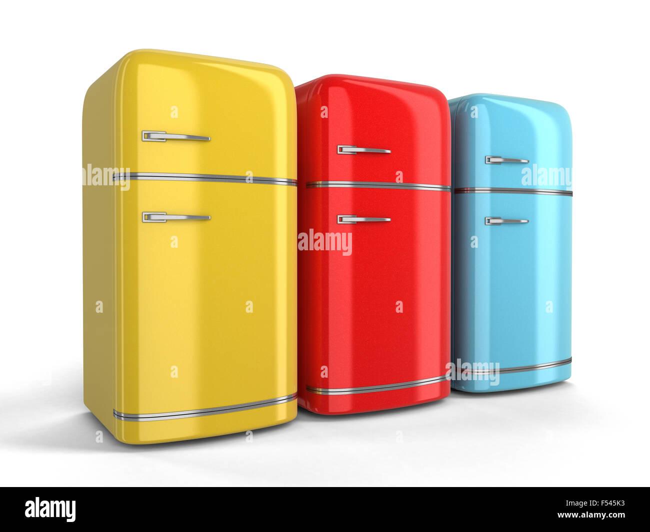 Retro Kühlschrank Klein : Retro kühlschrank bild mit beschneidungspfad stockfoto bild