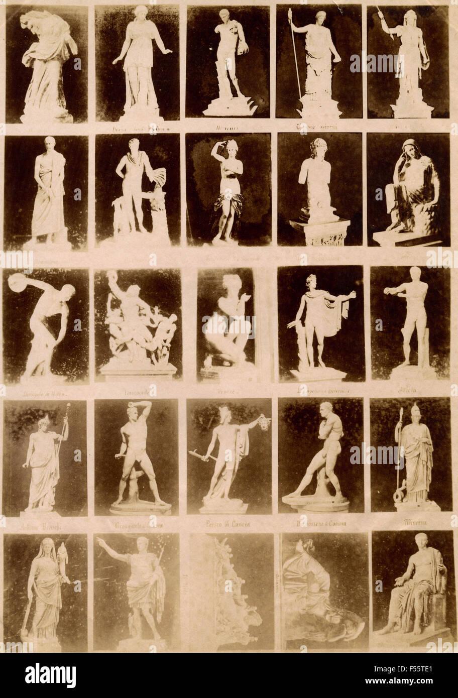 Vatikanische Museen: Werbebilder Stockfoto