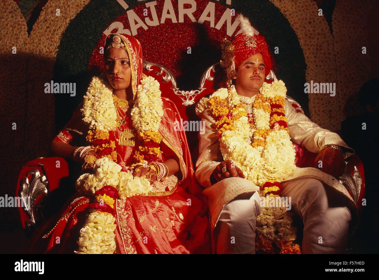 Hindu Hochzeit Indien Stockfoto Bild 89292517 Alamy