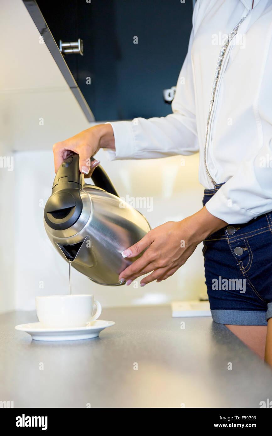 Hot Cup Of Tea Steam Stockfotos & Hot Cup Of Tea Steam Bilder - Alamy