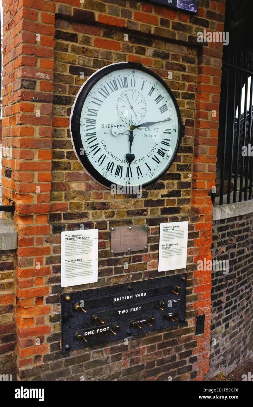 Wie spät ist es in Greenwich?