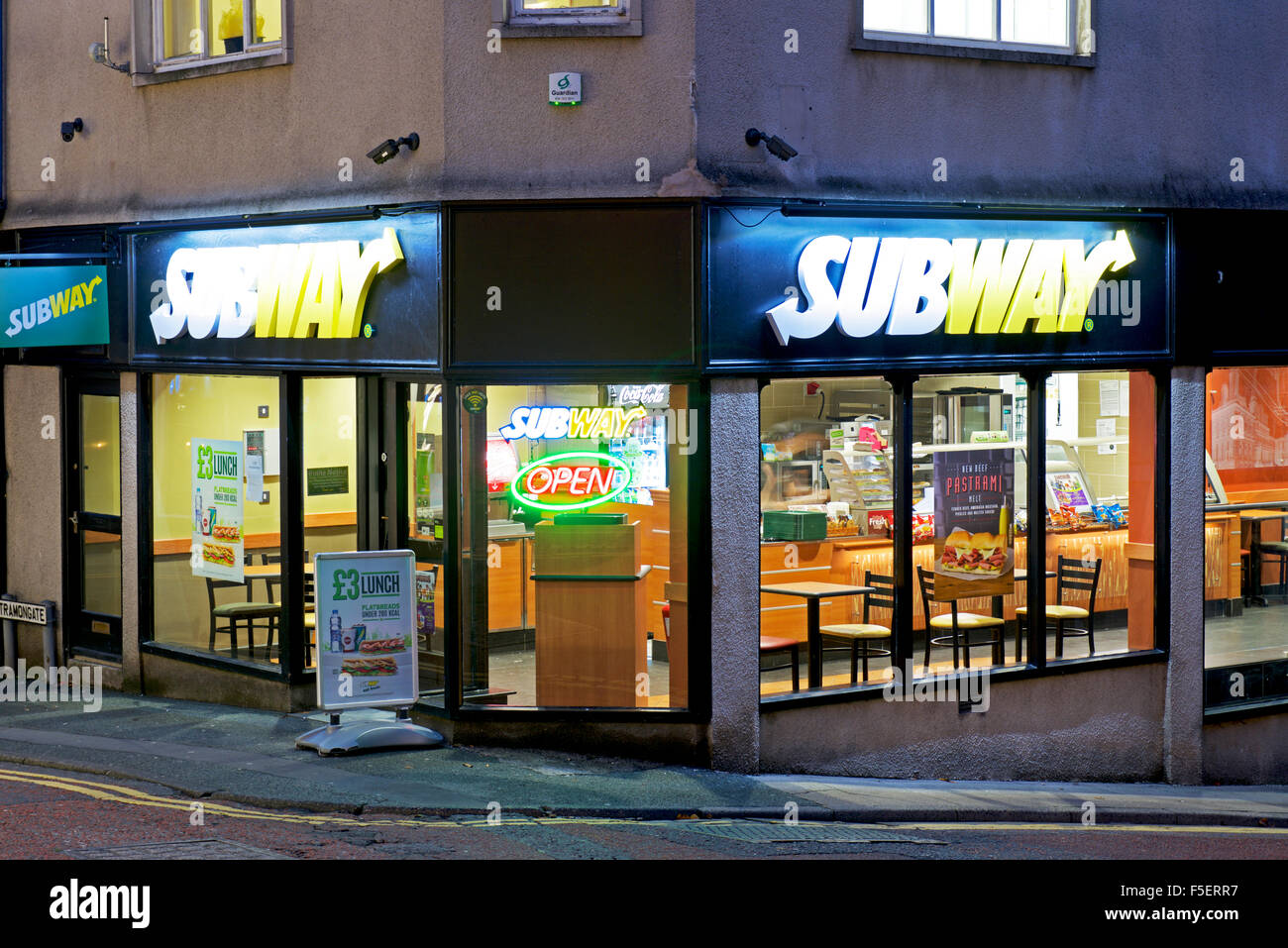from sandwich shop to subway Subway sandwich shops throughout the county will give away free six-inch subs to residents who donate canned goods for a local food bank during the chain's food for food campaign.