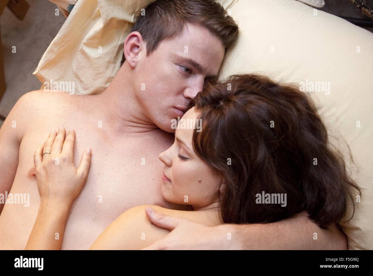 DIE Gelübde 2012 Columbia Pictures Film mit Rachel McAdams und Channing Tatum Stockbild