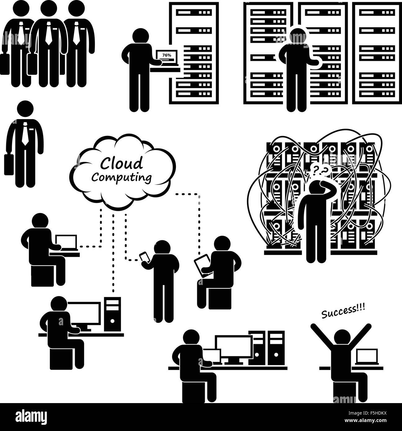 IT-Ingenieur Techniker Admin Computer Netzwerk Server Rechenzentrum ...